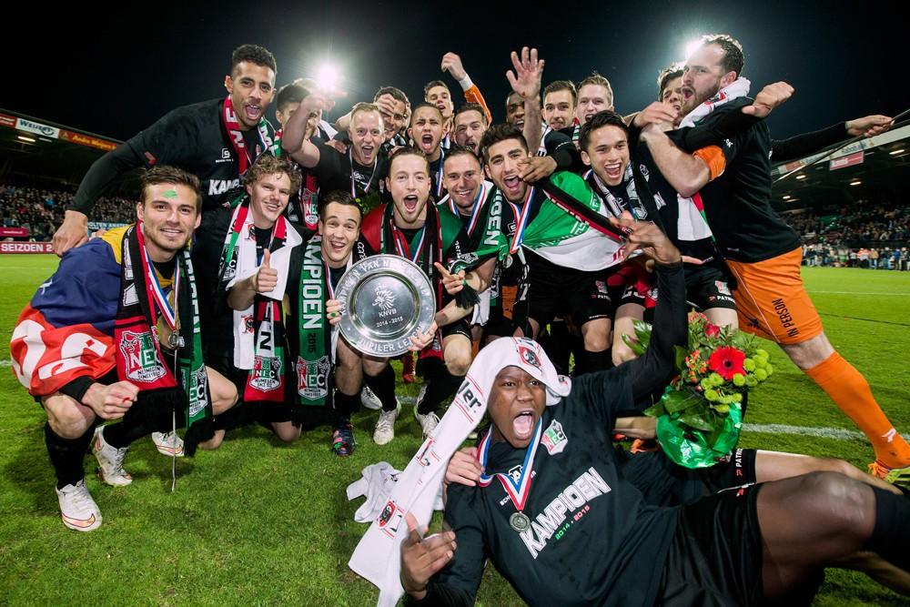 NEC Nijmegen kampioen